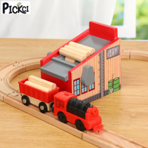 Wooden Railway Train