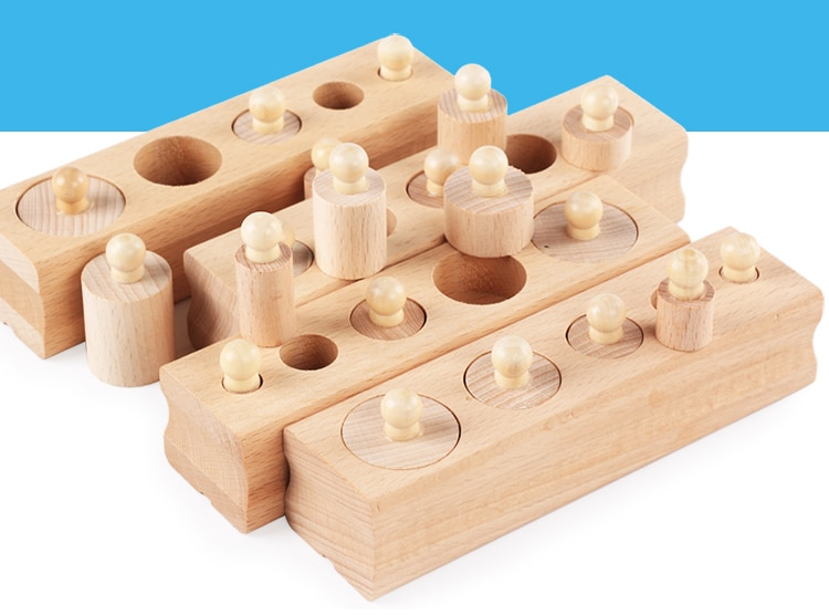Educational Size Learning Wooden Toy